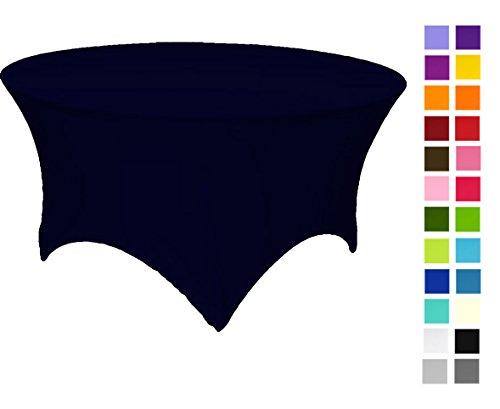 11 coloris disponibles. Nappe en élasthanne extensible de 183 x 75 cm, bleu marine, 180x75
