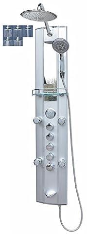 Thermostatic Shower Panel/Shower Column Shower Paneel Rain Shower System Bath