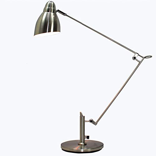Klappbare Einstellbare Tischlampe,Arbeitstisch Lampe Aus Aluminium,Industrielle Windtischlampe,Schreibtischlampe Mit Schwenkbarem Arm, Leselampe Mit Drehbarem Kopf, Retro