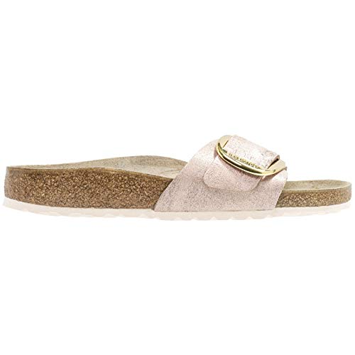 BIRKENSTOCK Madrid Big Buckle Damen Sandalen Gold Gold Cup