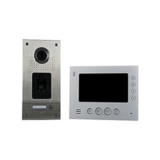 AE CKZ1-812S1-01 1 Fam. Fingerprint Colour Video Intercom Set 1 2 Pieces