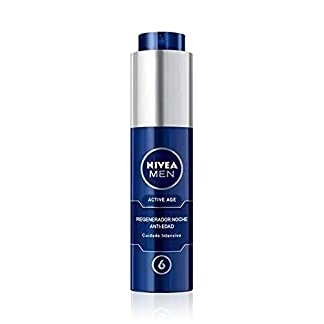 NIVEA MEN Active Age Crema Hidratante de Noche Antiarrugas + Active Age Crema Hidratante de Día Antiarrugas