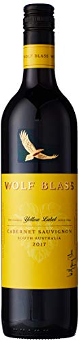 Wolf Blass Yellow Label Cabernet Sauvignon, red wine 75 cl (case of 6)