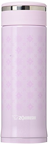 ZOJIRUSHI Wasser Flasche gerade Drink Edelstahl Tasse 300ml Pearl Lavendel sm-ed30-vp Tasse Pearl