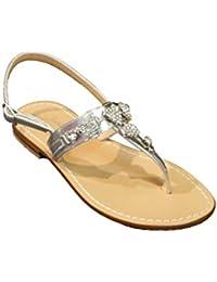 Moda Positano Sandalo Infradito con Cuori in Gioiello MainApps a2dab3a3c73