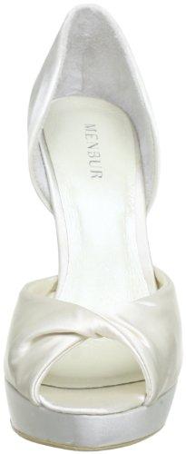 Menbur Wedding Katrina 5357, Scarpe da sposa col tacco Avorio (Elfenbein (Ivory 04))