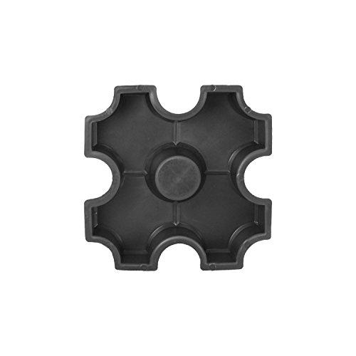 Beton PP Gießform - Schalungsform - Bodenplatte - Betonform - Terrassenplatte - Gehwegplatte - Rasengitterelement, Form für Rasensteine