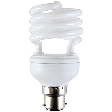 12Vmonster DC 12Volt 10Watt lampadina fluorescente compatta Bianco Caldo E26E27CFL Lampada