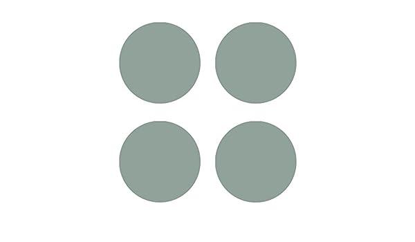 Rubbelsticker rund silber Rubbeletiketten
