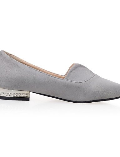 ZQ gyht Scarpe Donna - Ballerine - Tempo libero / Formale / Casual - Ballerina / A punta - Piatto - Felpato - Rosa / Grigio / Verde chiaro , light green-us6.5-7 / eu37 / uk4.5-5 / cn37 , light green-u gray-us10.5 / eu42 / uk8.5 / cn43