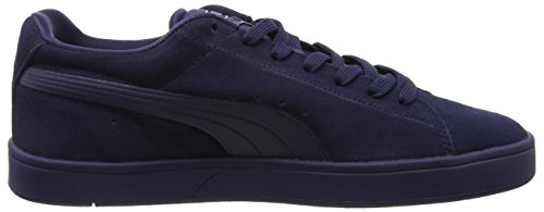 Puma Suede S S6, Baskets Basses Mixte Adulte Multicolore (Peacoat/Silv)
