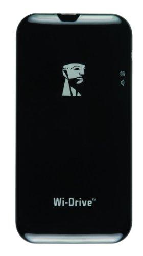 Kingston Wi-Drive 64GB externe SSD-Festplatte (6,4 cm (2,5 Zoll), USB 2.0)
