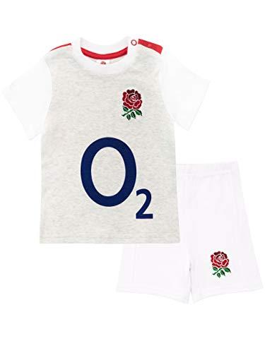 England Rugby Baby Jungen RFU Zweiteilige Schlafanzüge Grau 98 -