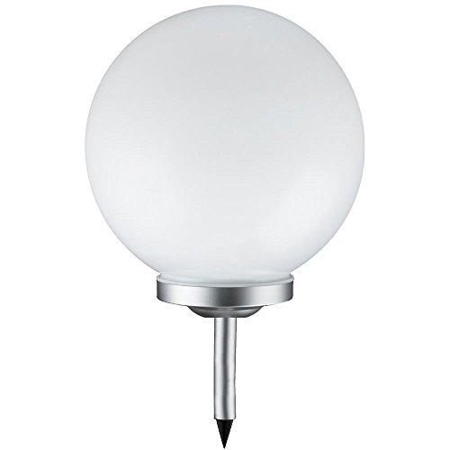 Grafner® XXXL Solarkugel Ø50 cm | LED | mit Erdspieß | Wegleuchte Gartenlampe Kugelleuchte LED-Leuchte Gartenleuchte Solar Kugel