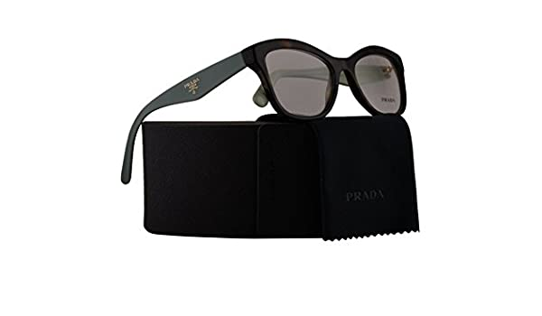 0519629918b Prada PR29RV Eyeglasses 52-17-140 Havana w Demo Clear Lens 2AU1O1 VPR29R  VPR 29R PR 29RV  Amazon.co.uk  Clothing