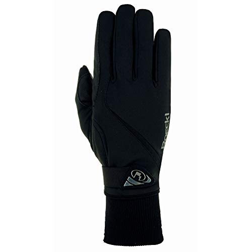 Roeckl Sports Winter Handschuh Wismar Unisex Reithandschuh, Schwarz, 8