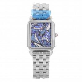 MICHELE Deco II Bijoux Diamant Mww06X 000019en acier inoxydable à quartz montre pour femme
