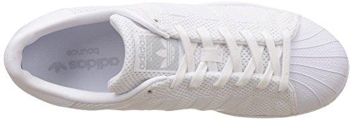 Adidas Superstar Bounce, Chaussures De Basketball Homme Blanc (ftwwht / Ftwwht / Ftwwht)
