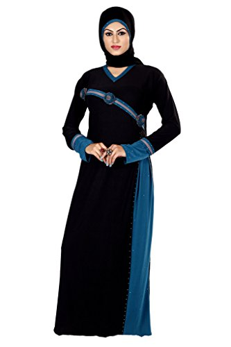 Viva N Diva Black Colored Lycra Abaya And Burkha.