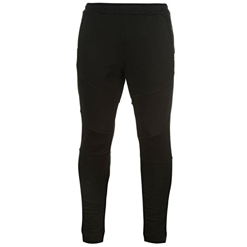 883 Police Homme Phantom Dynamics Pantalon De Survêtement Jogger Course À Pied Noir