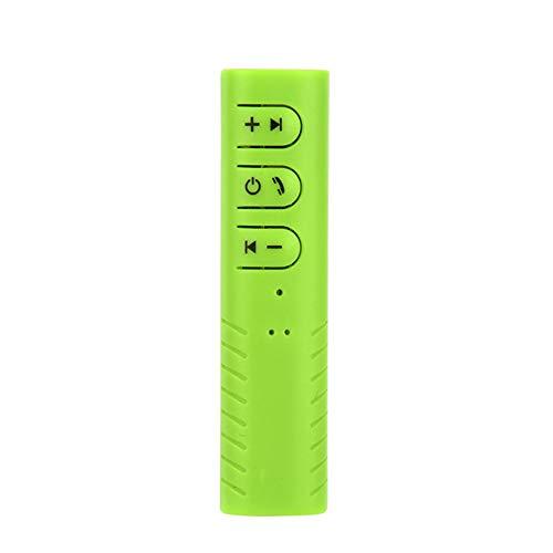 Antrygobin Car Audio Music Stereo Receiver Adapter Wireless Bluetooth 3.5mm (Car Audio Smd)