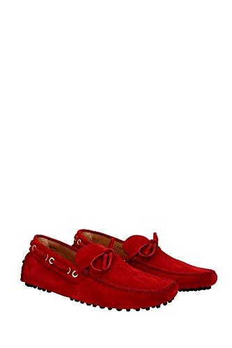 Mokassins Car Shoe Herren - (KUD006FUOCOSCAMOSCIATO8) EU Rot