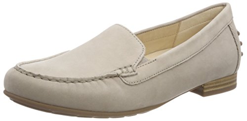 Gabor Shoes Damen Comfort Sport Slipper, Beige (Leinen), 41 EU