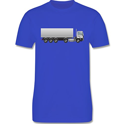Andere Fahrzeuge - Sattelzug Sattel 40 Tonner - Herren Premium T-Shirt Royalblau
