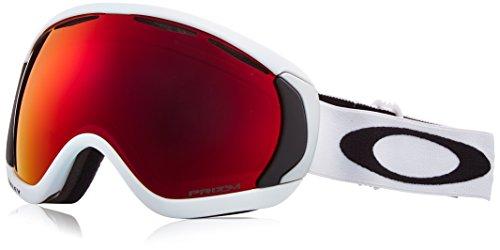 Oakley Herren Canopy 704750 0 Sportbrille, Weiß (Matte White/Prizmtorchiridium), L