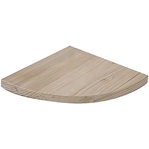 Croci R6075008 Sitzbrett ecke aus holz, 19 x 19 x 2 cm