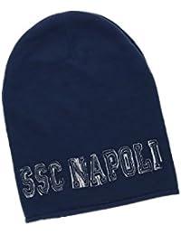CAPPELLO UOMO RASTA SSC NAPOLI L.LETTERE BY ENZO CASTELLANO 12265 MODA  ITALIANA c1d56caa4f7f