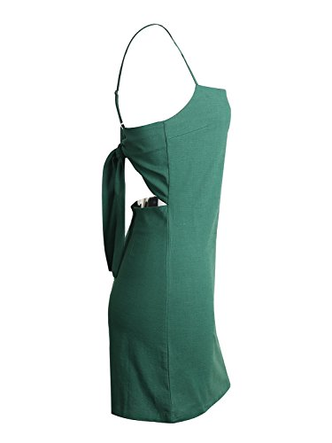Simplee Apparel - Robe - Moulante - Femme Blackish Green