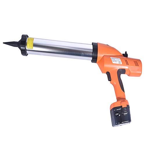 Guo 12 V Elektrische Silikonpistole/Elektrische Glaspistole Klebepistole 600 ml Elektrische oder Akku Schnurlose Wurstpistole für Silikon Heißer