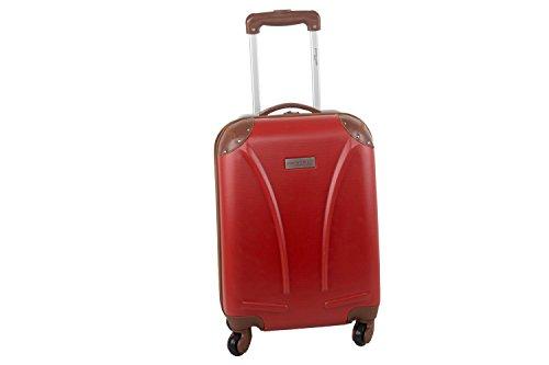 Maleta rígida PIERRE CARDIN rojo mini equipaje de mano ryanair S216
