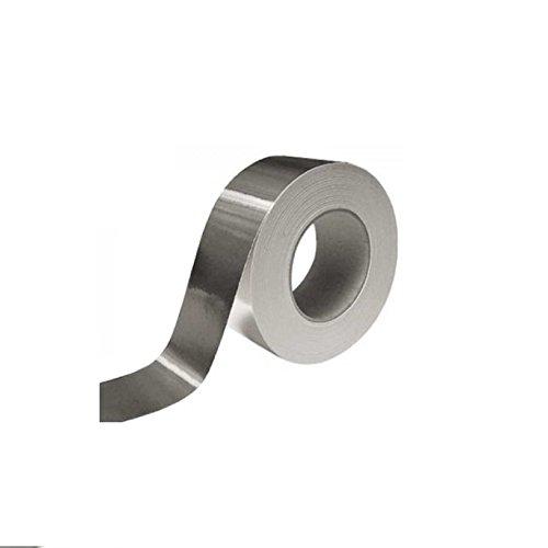 Aluminium-Klebeband für hohen und niedrigen Temperaturen mm.50x 25Mt Ofenrohre