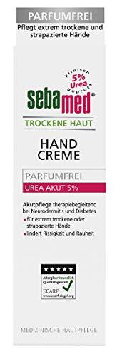 Sebamed Urea Akut 5% Crème pour les mains sans parfum 75 ml
