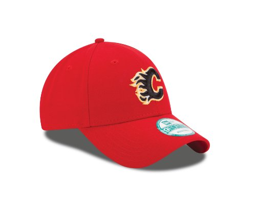 Casquette 9FORTY The League Calgary Flames rouge NEW ERA Rouge