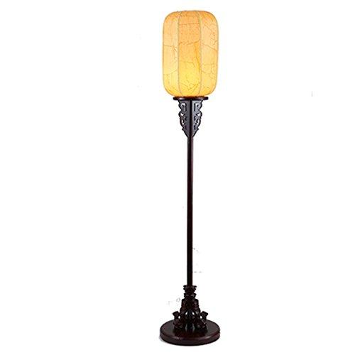 Laterne-stil Stehlampe (SMQ Stehlampe wohnzimmer retro chinesischen stil vertikale lampe antike laterne stehlampe klassische chinesische stil stehlampe)
