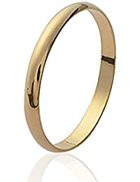 CENTMILLE - Bague Alliance Mariage Fine Homme - plaqué Or 18 Jaune carats