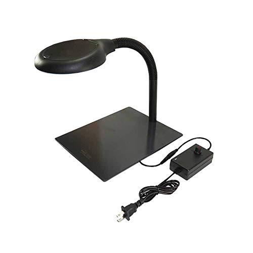 Tischlampen-LED-Tischlampe Optische Glaslupe -