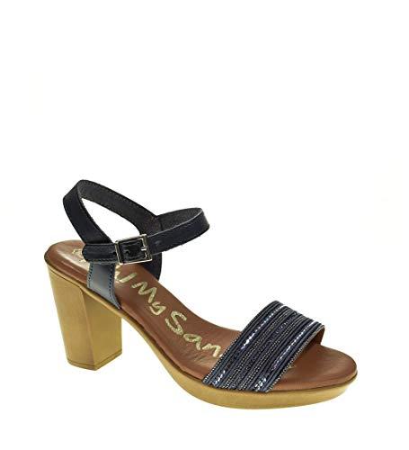 Sandalia Tacon - Mujer - Marino - oh my sandals - 4382-40