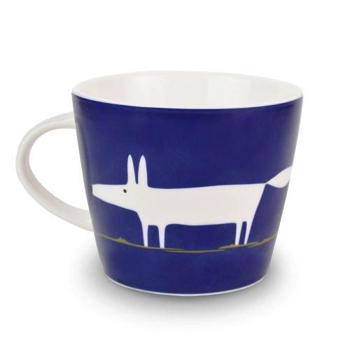 Scion Mr Fox Mug-Indigo