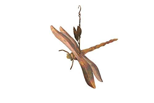 Antike Graffiti ag-8701610,5x 8x 6,5zum Aufhängen geflammter Libellen/AST Ornament–Mehrfarbig