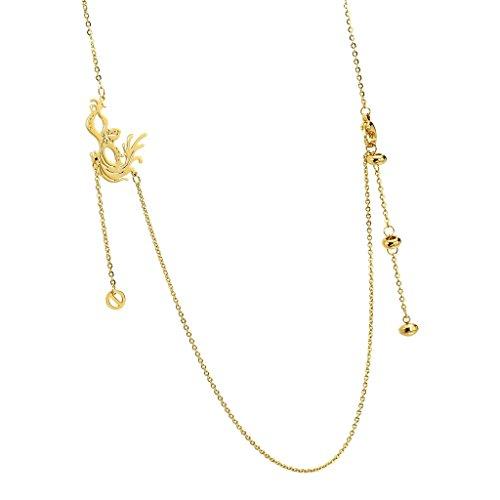 anazoz Fashion Jewelry Collier Pendentif en acier inoxydable Phoenix Oiseau collier avec pendentif pour femme Choix Couleur doré