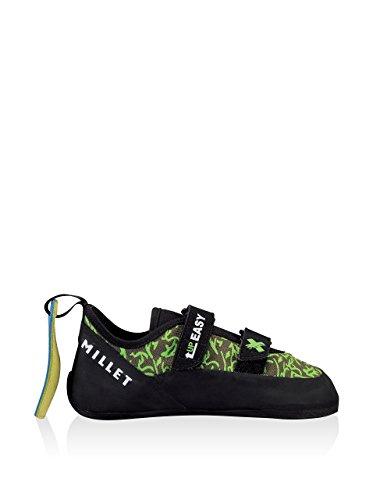 Millet  Easy Up Junior, Chaussures d'escalade pour femme Noir/vert