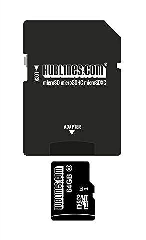TheVery® Original - qualité carte mémoire MicroSD High Speed 64Go