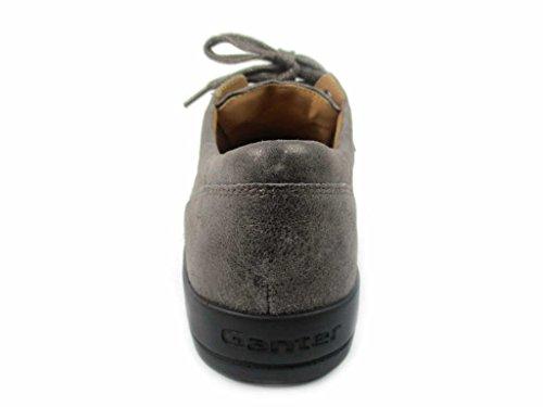 Ganter 204145-56000, Scarpe stringate donna Grau