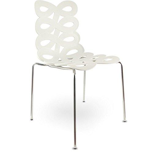 Produktabbildung von mojoliving MOJO Freischwinger Stuhl Loune Retro Besucherstuhl Stühle S03