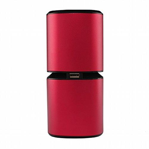 Preisvergleich Produktbild XC Anion Car Air Purifier Staubsauger Auto USB neben Geruch Oxygen Bar Haze neben Formaldehyd rot