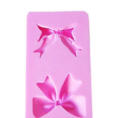Bogen Dekoration Soft Candy Mold Silikon Backform Backwerkzeug (Bogen Candy Mold)